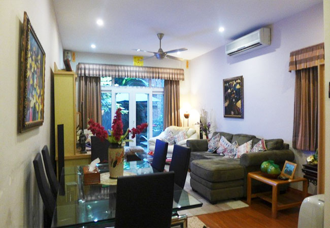 Fully furnished house for rent in Van Ho, Hai Ba Trung district