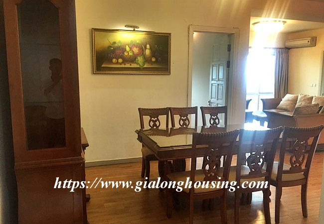 Three bedroom apartment in E building, Ciputra 2