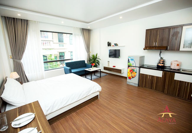 Serviced apartment for rent in Cau Giay, Nguyen Phong Sac street