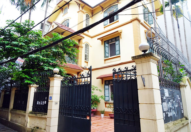 Nice 5 bedroom house for rent in To Ngoc Van street Tay Ho Hanoi