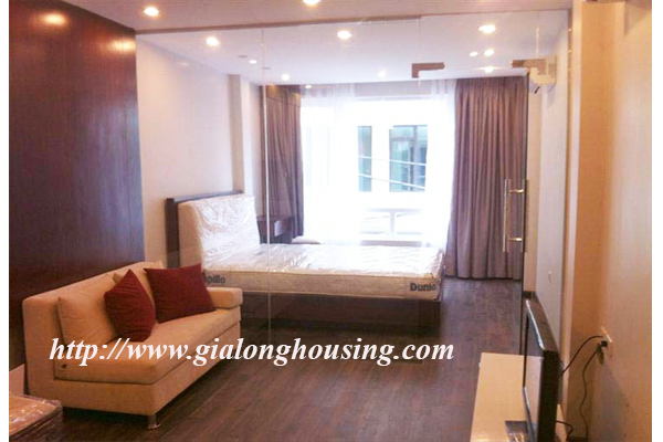 A studio apartment for rent in Mac Dinh Chi Street