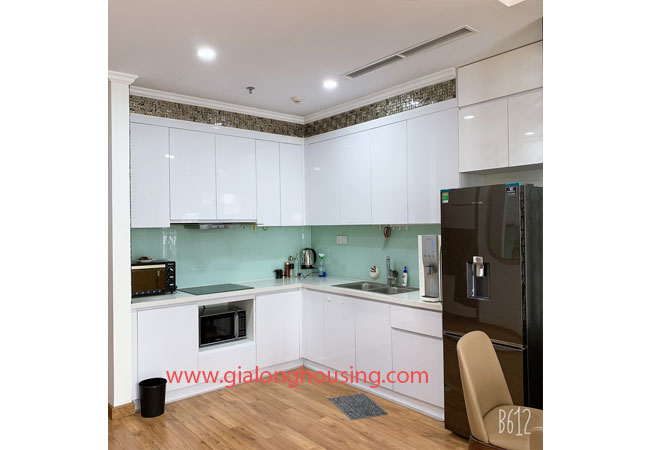 Times City Park Hill apartment for rent, modern furniture, nice balcony 4