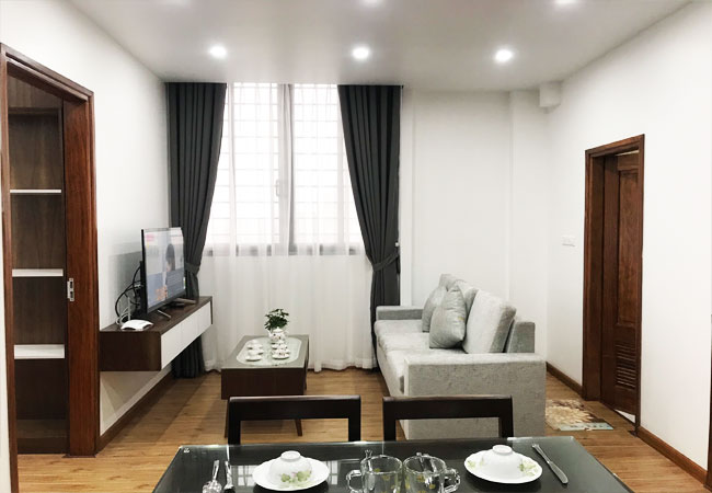 Newly built 02 bedroom apartment for rent in Phan Ke Binh street